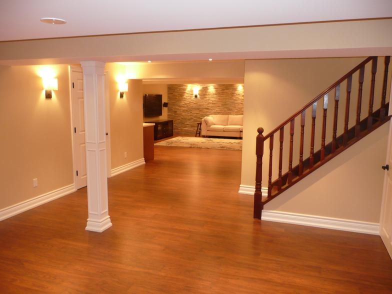 Renovated Basements : Renovations uses all high end products and materials in your basement ...