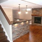 Basement renovations in York Region/Simcoe County Ontario. Servicing the areas of Newmarket, Aurora, Barrie, Bradford, Orillia, Alliston, Holland landing, Schomberg, Tottenham, Bolton, King City, Sharon, Beeton, Orangeville, Nobleton, Innisfil. Mackay Renovations specialize in quality basement renovations, basement construction, basement remodeling, basement finishing.